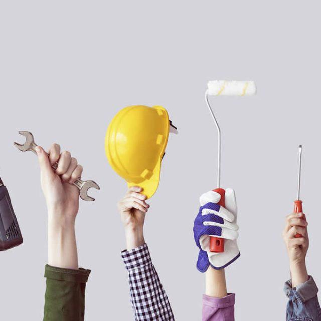Tipos de herramientas para el hogar